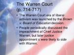 the warren court p 714 7171