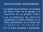 ancestralidad trascendente1