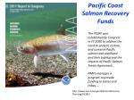 pacific coast salmon recovery funds
