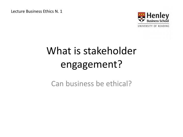 explain the implications for the business and stakeholders of a business operating ethically Explain the implications for the business and stakeholders of a business operating ethically pass 3  the importance of ethics and implications of acting ethically task one the first company that the charity wants you to look at is mcdonald's they want you to explore and explain their activities from an ethical viewpoint.