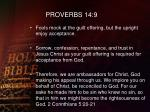 proverbs 14 9