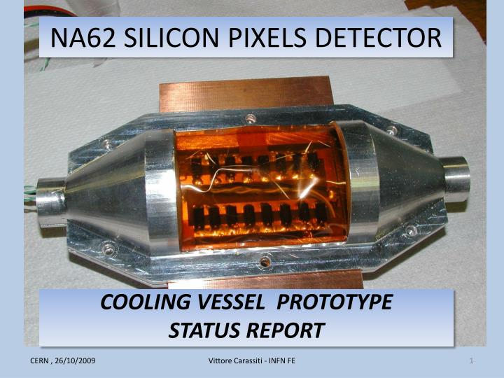 na62 silicon pixels detector n.
