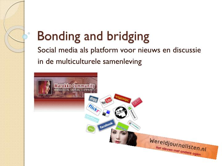 bonding and bridging n.