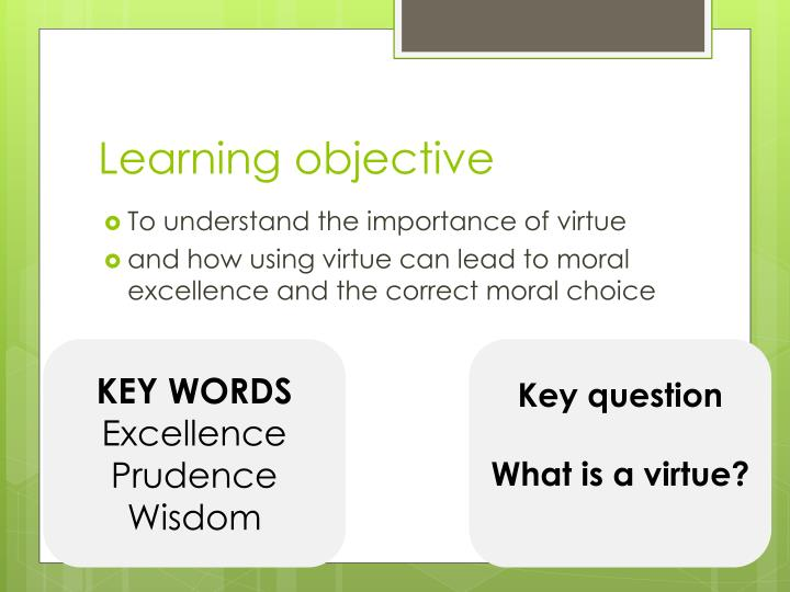 learning objective n.