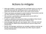 actions to mitigate1
