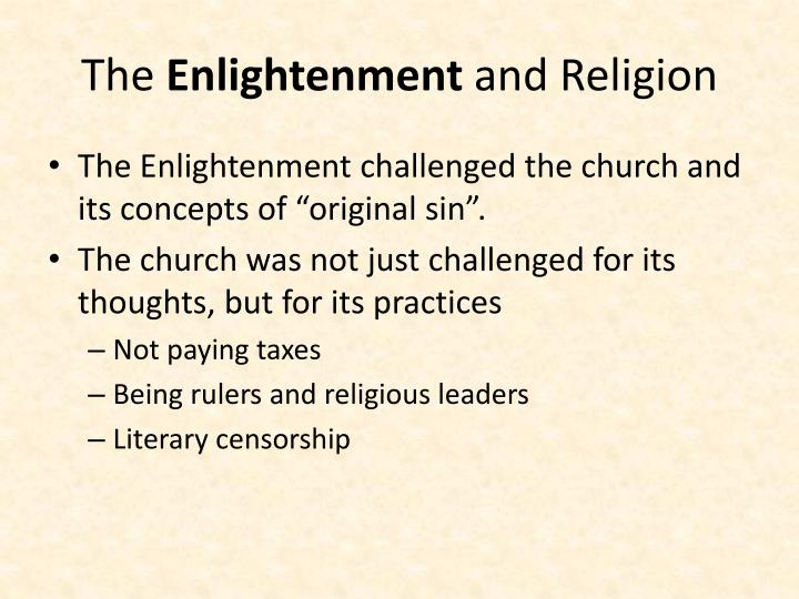 the enlightenment and religion n.