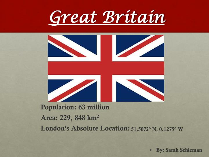 great britain n.