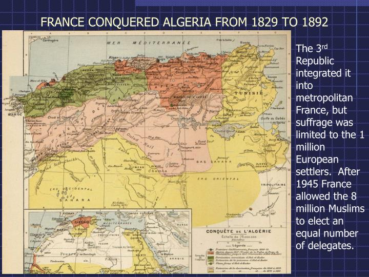 essay decolonization algeria General overviews general information on french colonial rule in africa can be found in works dealing with french imperialism as a whole, in specific regional or national histories, as well as in general and comparative studies of european colonialism in africa.