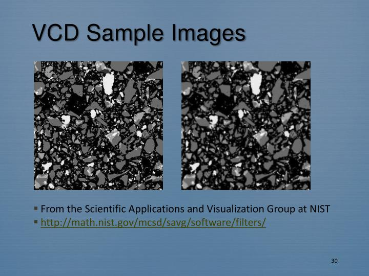 VCD Sample Images