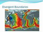 divergent boundaries1