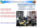 test beam frascati