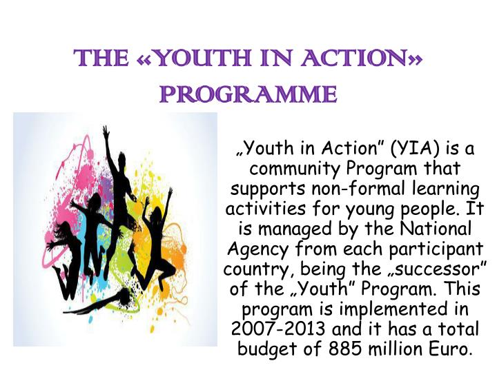 the youth in action programme n.