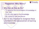 plagiarism why worry5