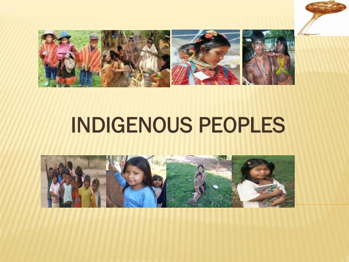 indigenous peoples n.
