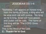 jeremiah 23 1 62