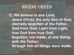 nicene creed1