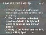 psalm luke 1 68 79 cev4