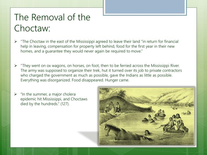 The Removal of the