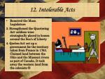 12 intolerable acts1
