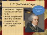 2 2 nd continental congress1
