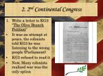 2 2 nd continental congress2