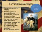 2 2 nd continental congress3