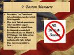 9 boston massacre