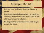 bellringer 11 15 11