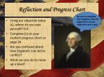 reflection and progress chart