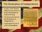 the declaration of independence3