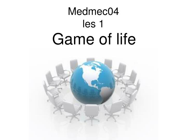 game of life n.
