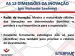 as 12 dimens es da inova o por mohanbir sawhney