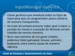 inputmanager gen rico