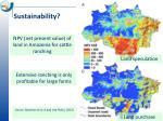 s ustainability