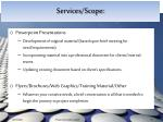 services scope