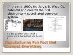 manufacturing fun fact that changed everything