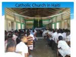 catholic church in haiti