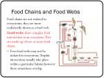 food chains and food webs2