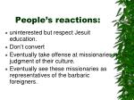 people s reactions