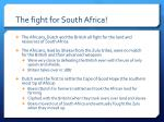 the fight for south africa