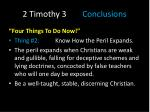 2 timothy 3 conclusions2