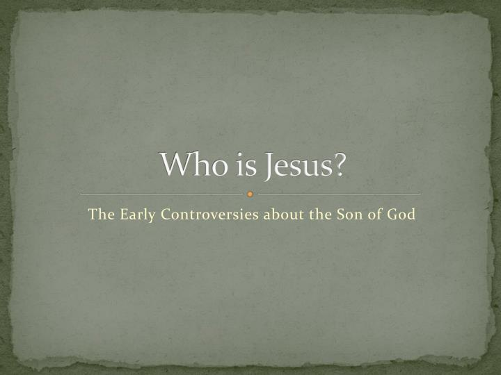 who is jesus n.