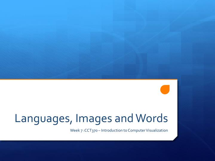 languages images and words n.