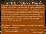 example 2 the general assembly