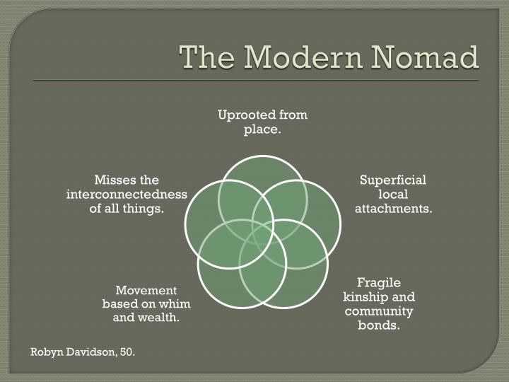 The Modern Nomad