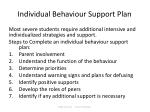 individual behaviour support plan
