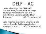 delf ag2