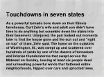 touchdowns in seven states