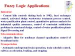 fuzzy logic applications2