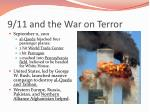 9 11 and the war on terror